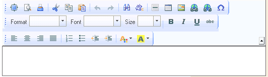 Custom toolbars on PeopleSoft Rich Text Boxes   The